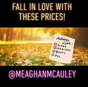 FALL in love with these prices!